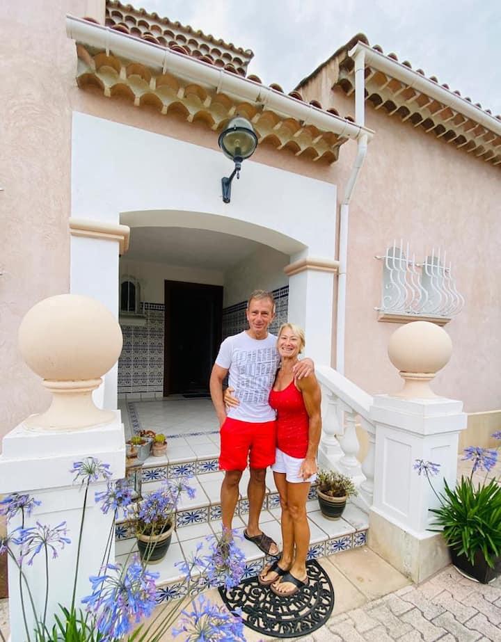 Suite familiale balnéo à La Villa des Ames Liées