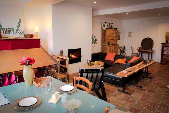 Le loft de Montolieu - Montolieu - Byt