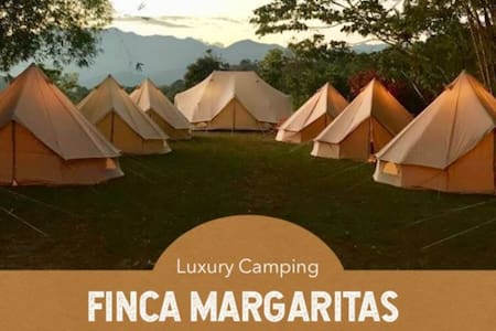 Luxury Camping in a Coffee Farm · Double Tent