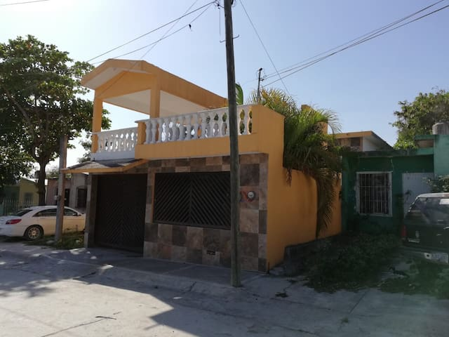 Casa Huasteca! - Planta Alta WIFI, NETFLIX