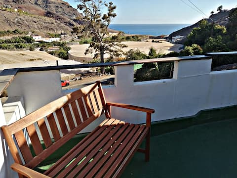 Deluxe Double Room with Private Terrace Sea View