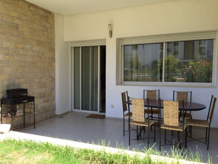 Belle 169m2 appartement hay riad appartements louer for Mobilia hay riad rabat
