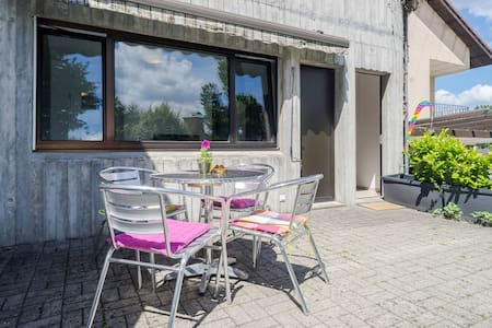 Sunny Garden Apartment - Neuhausen am Rheinfall