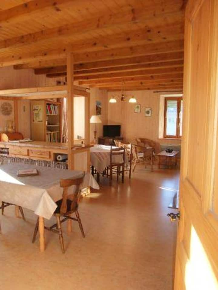 Apartment with 3 bedrooms in Plancher-les-Mines, with furnished garden and WiFi - 7 km from the slopes
