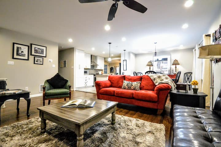 Bring WHOLE family!!! Marietta 6 BR King Beds (pf)