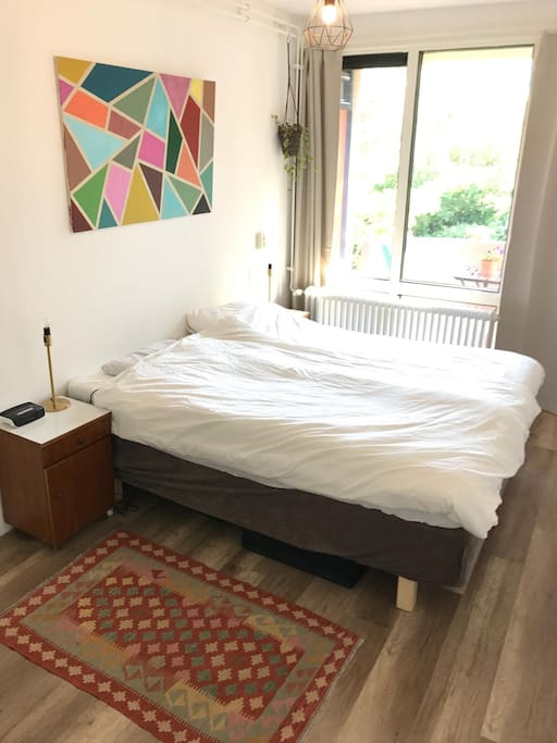 Bedroom 1, possibility to make a twin bed (1.60 x 2.00)