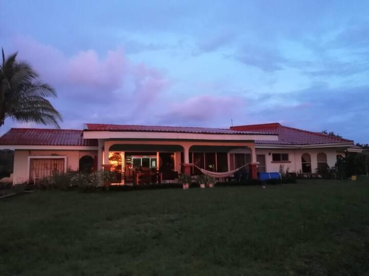 Beautiful Sunset House