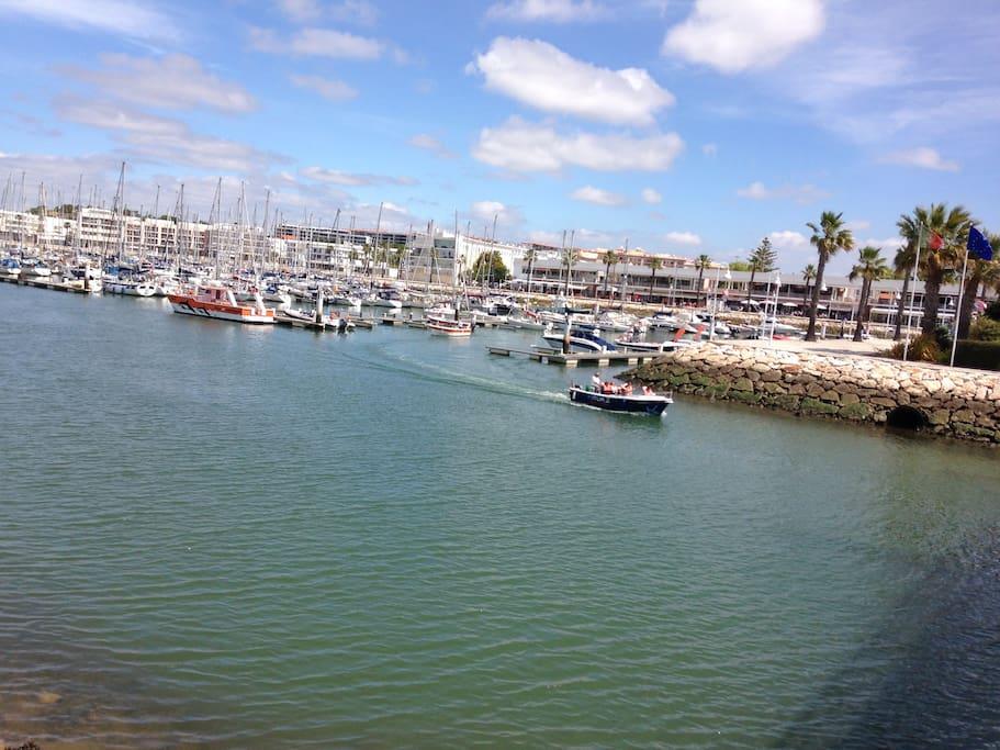 Marina de Lagos (5 min stroll from apt.)