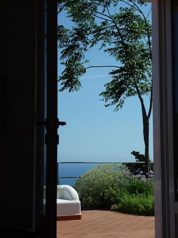 Villa in gardens with sea views - Conca dei Marini - House
