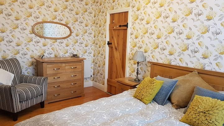 Comfortable spacious bedroom