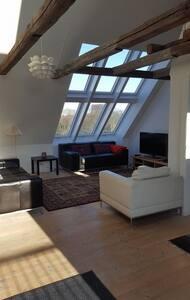Stor lejlighed tæt på centrum udlejes min 10 dage - 코펜하겐(Copenhagen) - 아파트