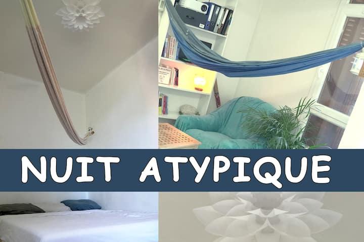 Appartement simple, vert et à 2 pas de Lyon