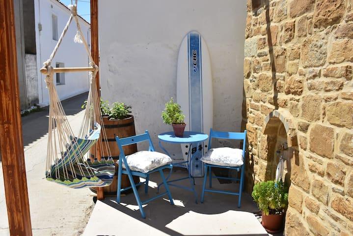 Surf dream house next to Keros