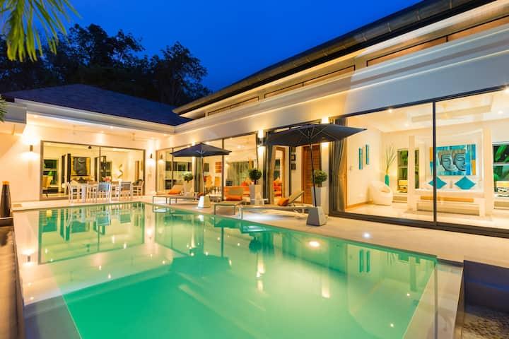 Warm welcome to Villa Zen, Salt Pool, 3 bed, Rawai
