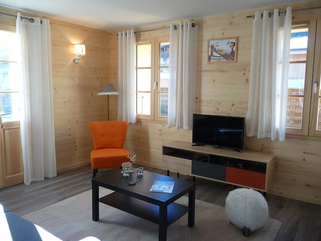 Appartement avec terrasse au centre de Morzine - Morzine - Apartment
