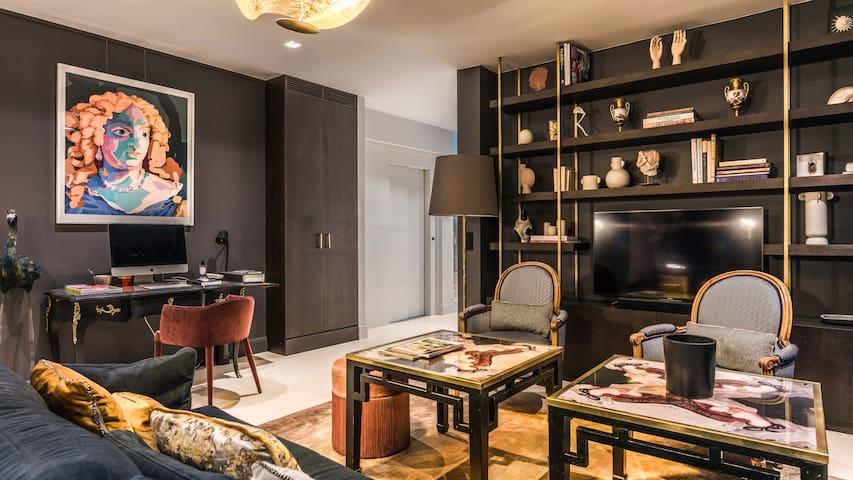 Maison de grand luxe 2 Chambres, services inclus