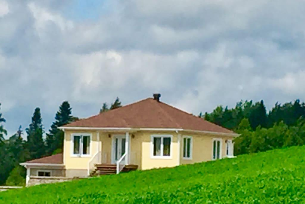 Maison au coeur de la nature pr s du massif du sud for La maison du massif