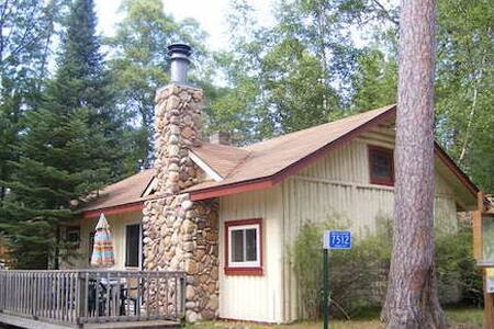 The Fireside Cabin at Cardella's South Bay Resort!