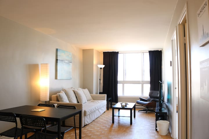 BEAUTIFUL DT MONTREAL APT w/ BEAUTIFUL VIEW + WIFI