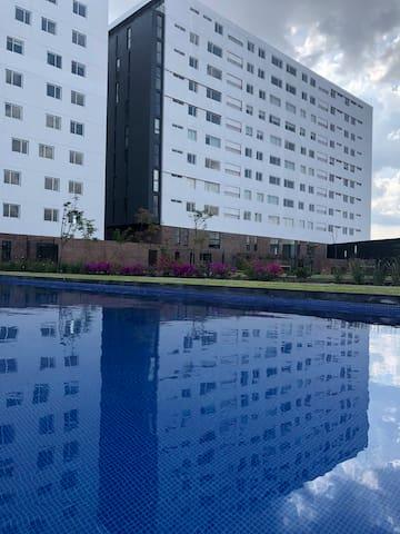 Depa 1 recámara - la mejor ubicación de Juriquilla