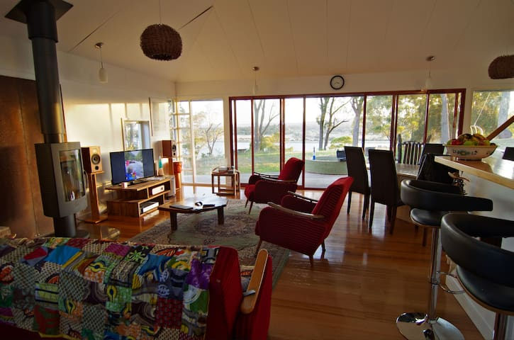 Tamar River Waterfront Retreat - Dilston - House