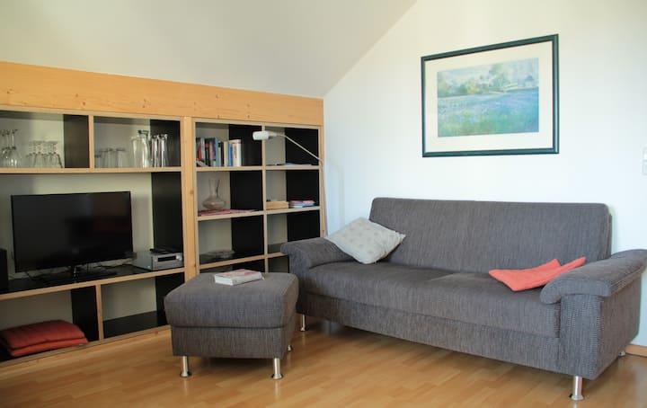 Isabella Kehrer Ferienwohnungen, (Radolfzell-Mettnau), Ferienwohnung Komfort****, 60qm, 2 Schlafzimmer, max. 3 Personen