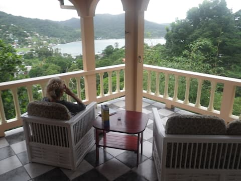 Grandview Guesthouse .Lucy Vale,Speyside,Tobago