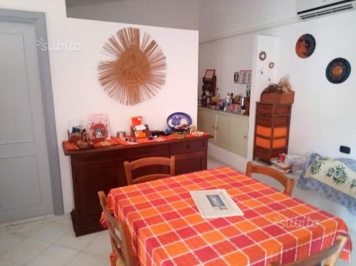 Appartamento con terrazza  panoramica  max 5 posti