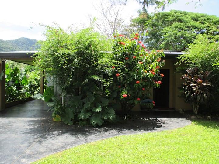 静かで野鳥が訪れる見晴らしの良い家 Beautiful Wild Birds and Quiet