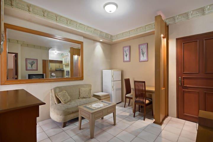Cozy & Bright Two Bedrooms Aptmnt in Kelapa Gading