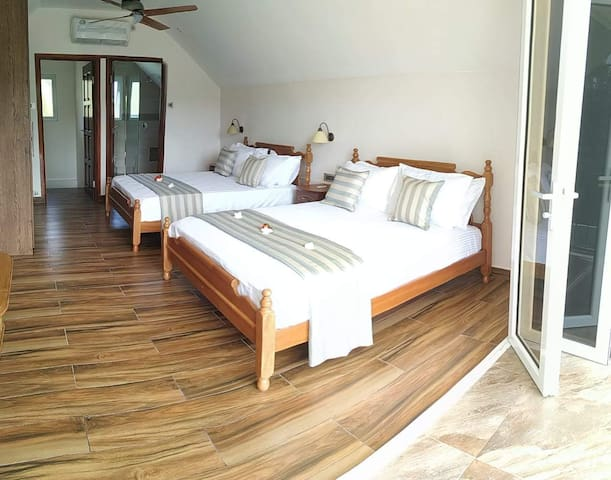 The Garden Villas - Attic Master Bedroom