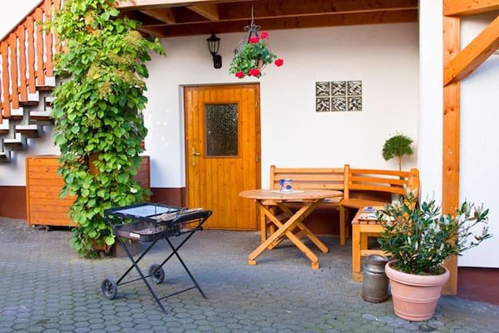 Ferienwohnung B am Edersee Kellerwald Nationalpark - Vöhl - Apartemen