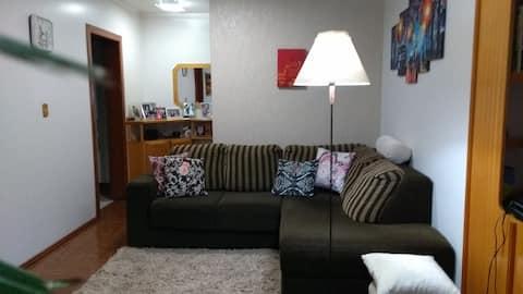 Apartamento em  Ijuí/RS, no Centro e mobiliado.