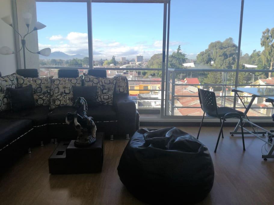 Balcón y Vista