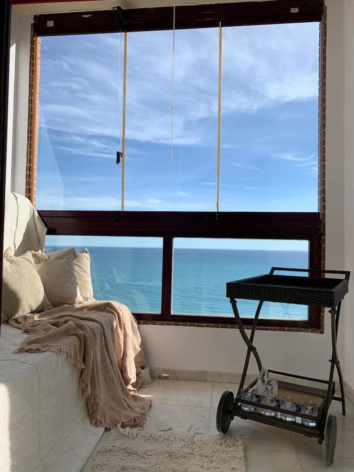 High sea view apartment