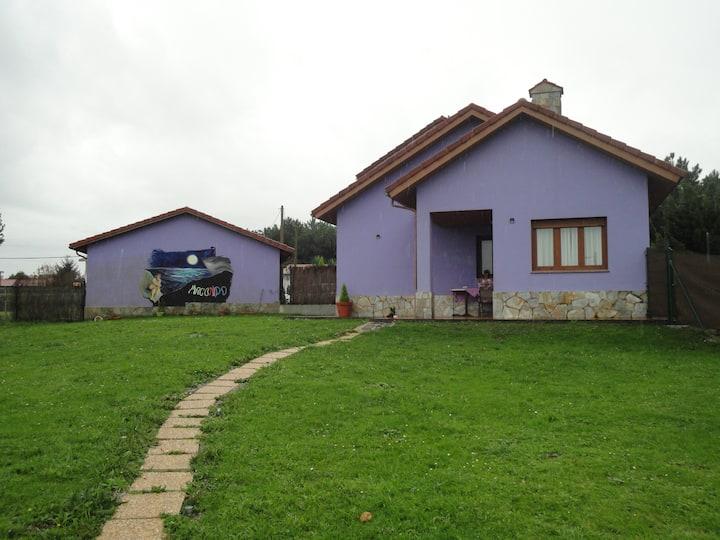 Apartamento MACONDO en Bañugues (Luanco) Asturias