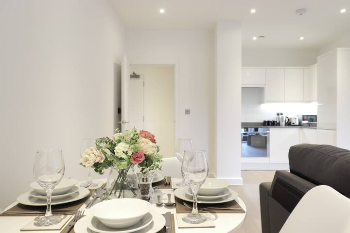 St Albans - Luxury 1 Bed Serviced Apartment