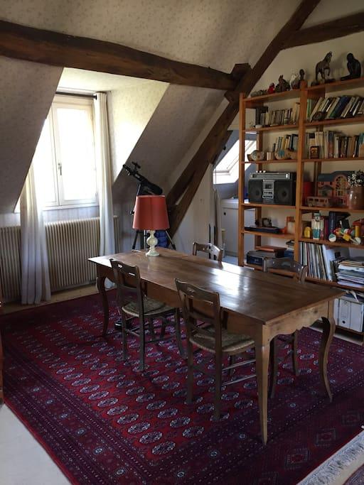 Grande table bureau