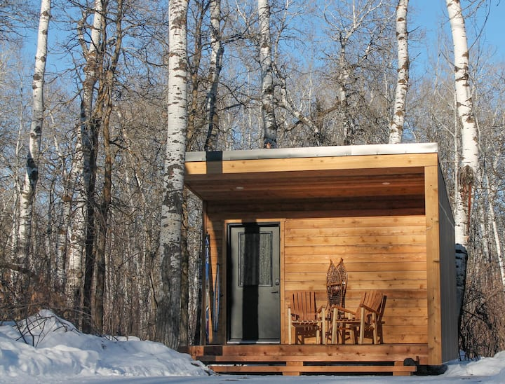 Stay in Micro Cabin #5 at NORTHGATE Trails!