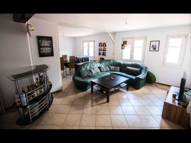 Appartement hyper centre quartier petite france