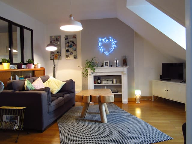 Lovely apartment - City Center - Landerneau