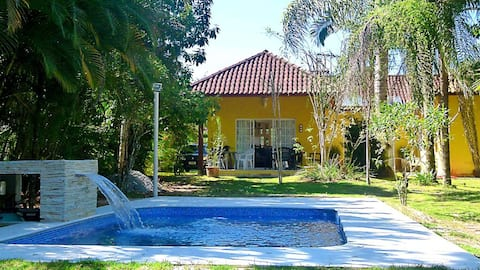 Beautiful house in the best canal and marina of Angra