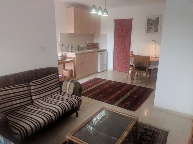 studio appartment in Jerusalem mountains.