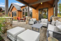 Fantastic, covered outdoor living space!