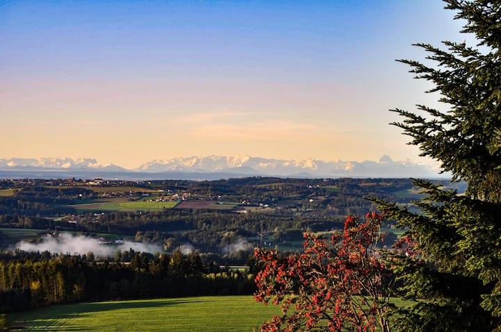 Ferienwohnung Sonnenberg mit Panoramablick