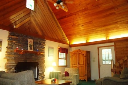 Secluded cabin near Brevard, Pisgah  & DuPont - Pisgah Forest - Stuga