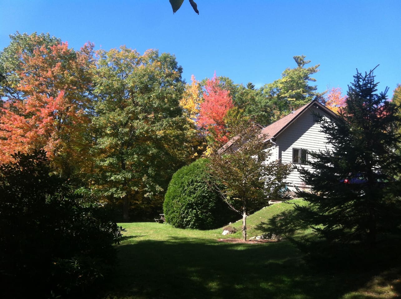 There is nothing like fall in New Hampshire