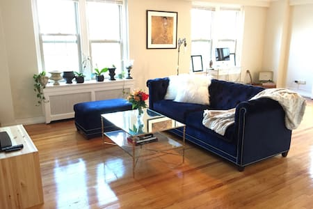 Very spacious, clean and cozy apartment nestled beside the Historic District of Indian Village.  Just below the apartment, a variety of options: Red Hook (coffee/pastries), Vegan Soul Food and Craft Work, a neighborhood cocktail bar, once apothecary.