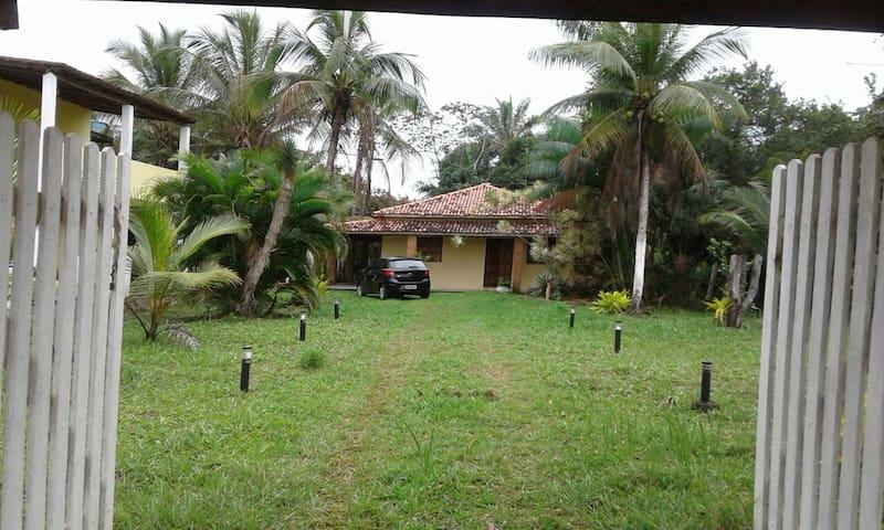 Big house between Itacaré-Ilhéus 200m to the beach