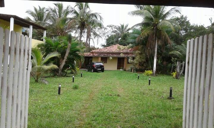 Big house between Itacaré-Ilhéus 500m to the beach